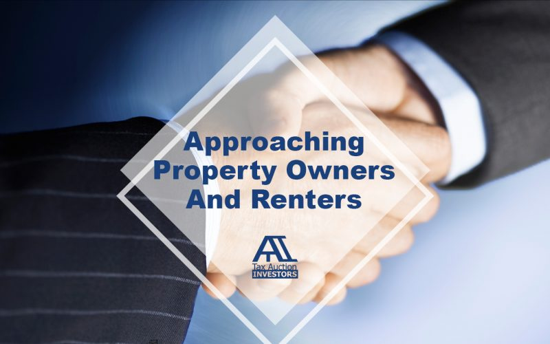 Approaching Property Owners And Renters