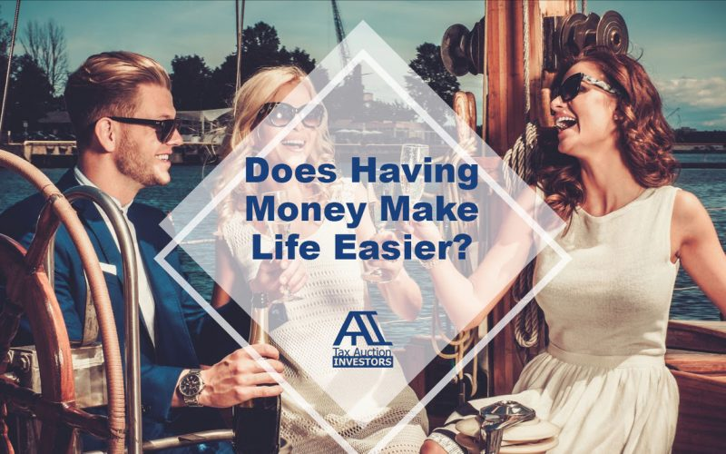 Does Having Money Make Life Easier?