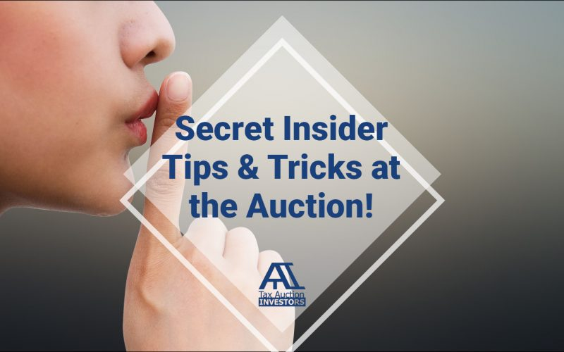 Secret Insider Tips And Tricks At The Auction