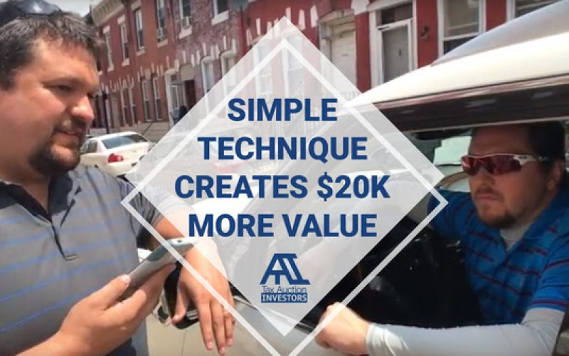 SIMPLE TECHNIQUE CREATES $20K MORE VALUE