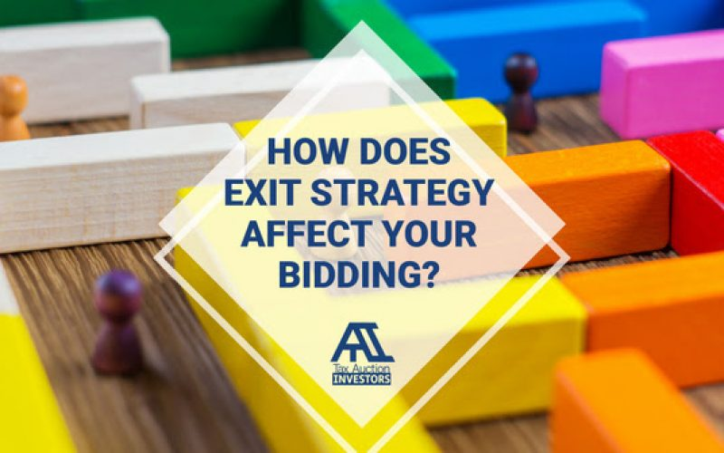 How Does Exit Strategy Affect Your Bidding?