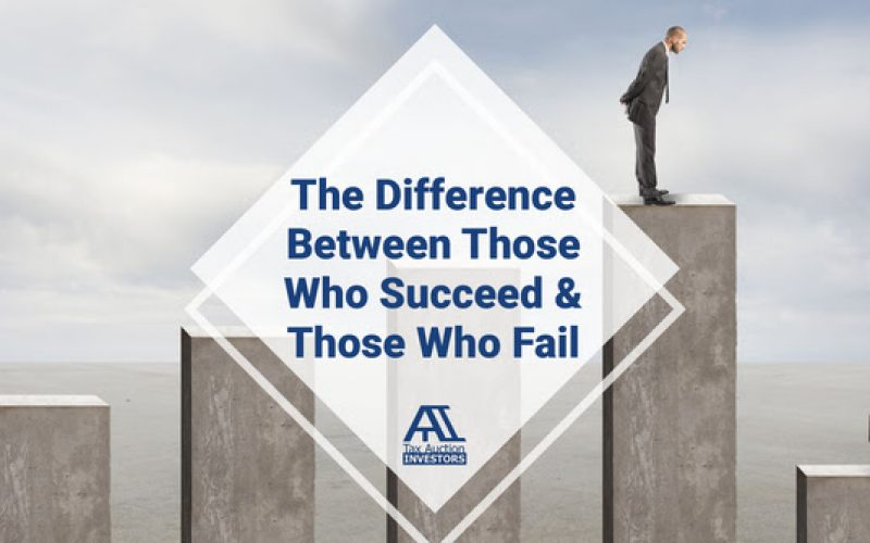The Difference Between Those Who Succeed And Those Who Fail