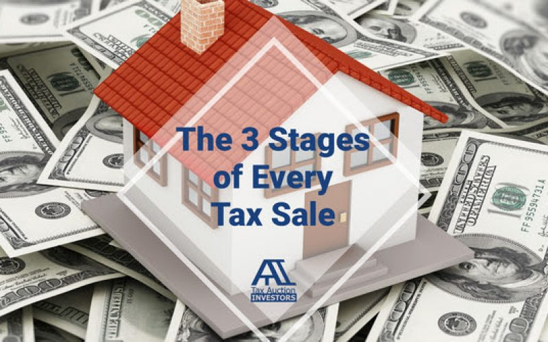 The 3 Different Stages Of Every Tax Sale