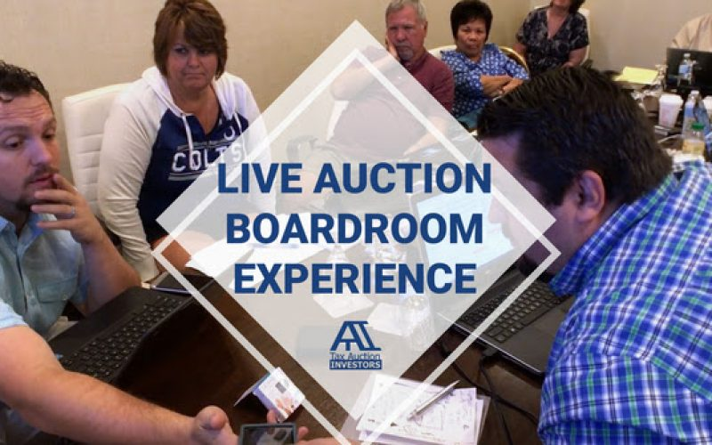 Live Auction Boardroom Experience