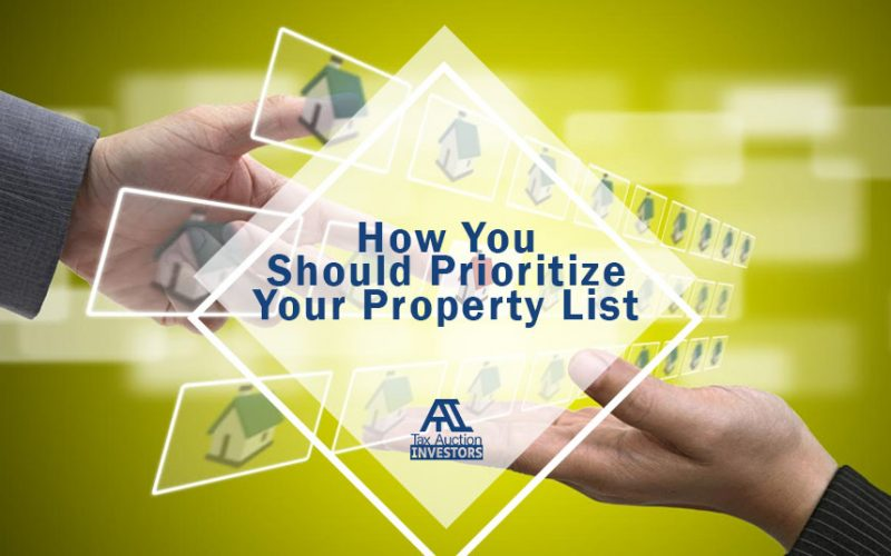 How You Should Prioritize Your Property List